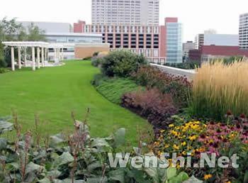 屋顶绿化技术要点及设计图片欣赏