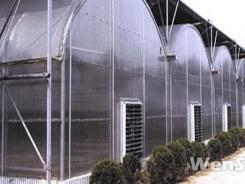 GSW-8430型连栋塑料温室设计方案