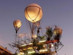 大型会飞温室亮相法国